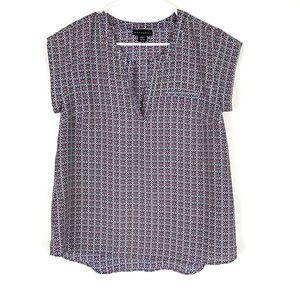 Metaphor pink/blue blouse Sz:Medium